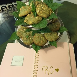 Basil White Chocolate Chip Cookies