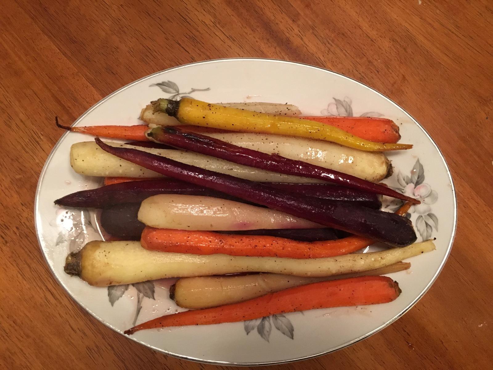 Honey Roasted Carrots