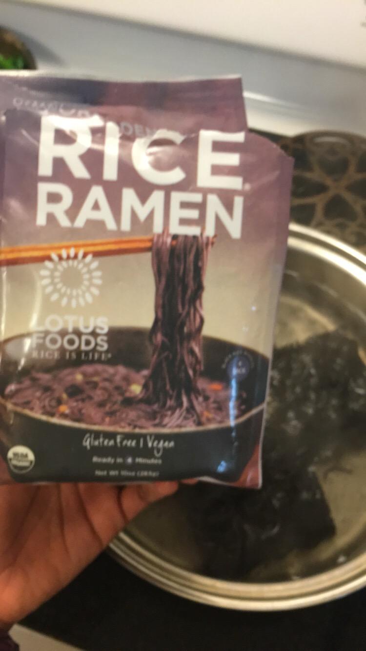 Black Rice Ramen
