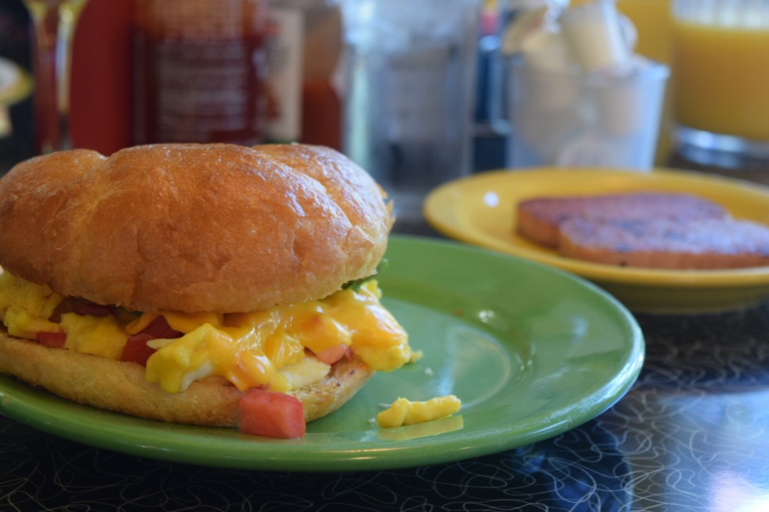 Crossaint Breakfast Sandwich