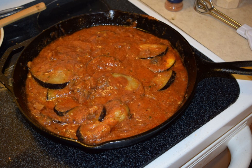 Eggplant No Parmesan