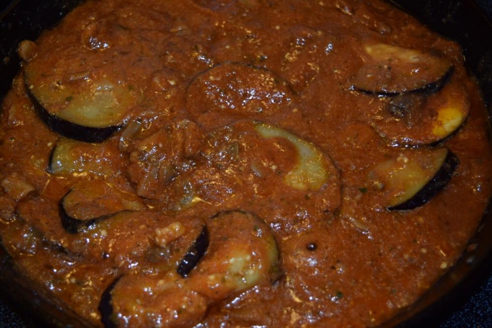 Eggplant Sans Parmesan
