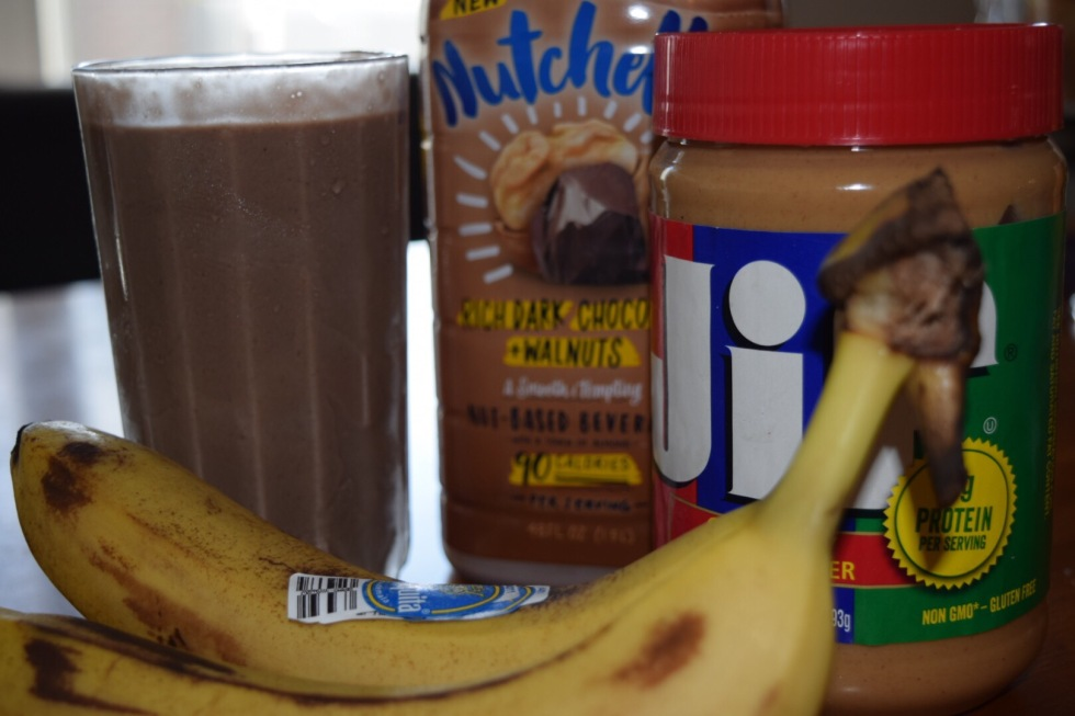 Vegan Peanut Butter Chocolate Shake