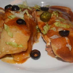 Meatless Enchiladas