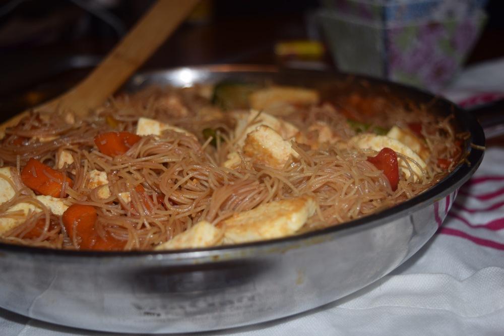 One Pot Rice Pasta