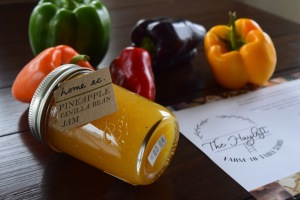 Pineapple Vanilla Bean Jam