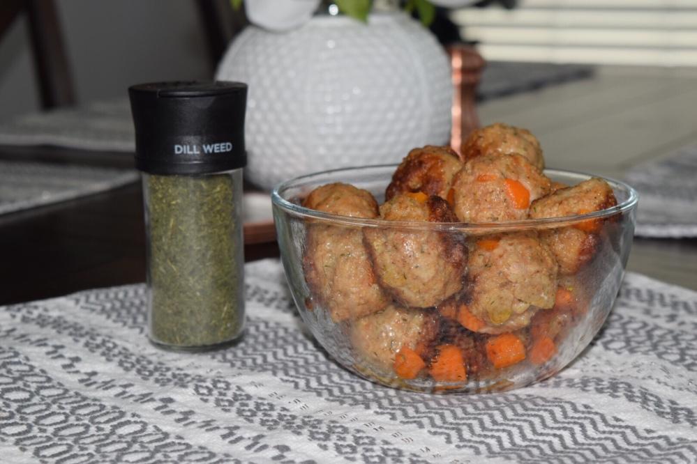 Dill Chicken Meatballs
