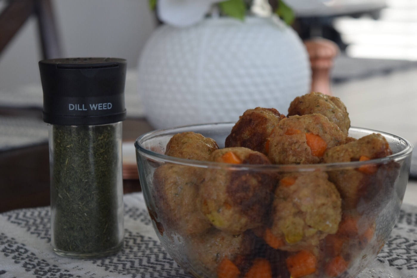Dill Chicken Meatballs