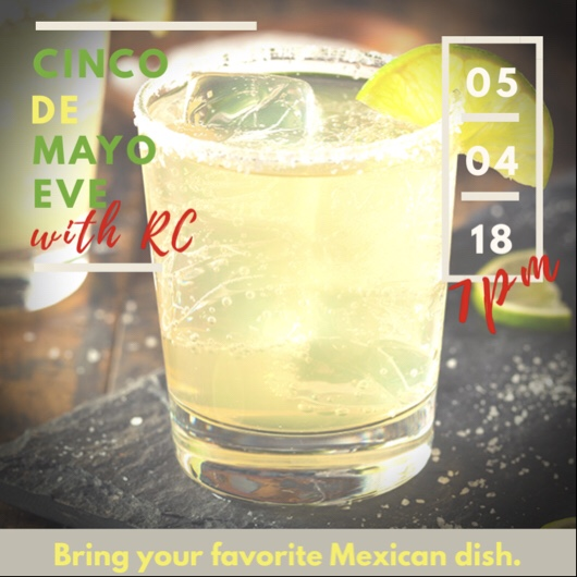 Cinco de Mayo eve invitation