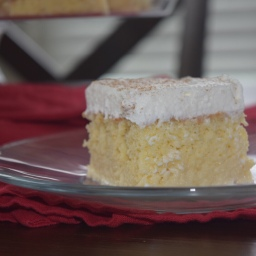 Coconut Almond Tres Leches Cake