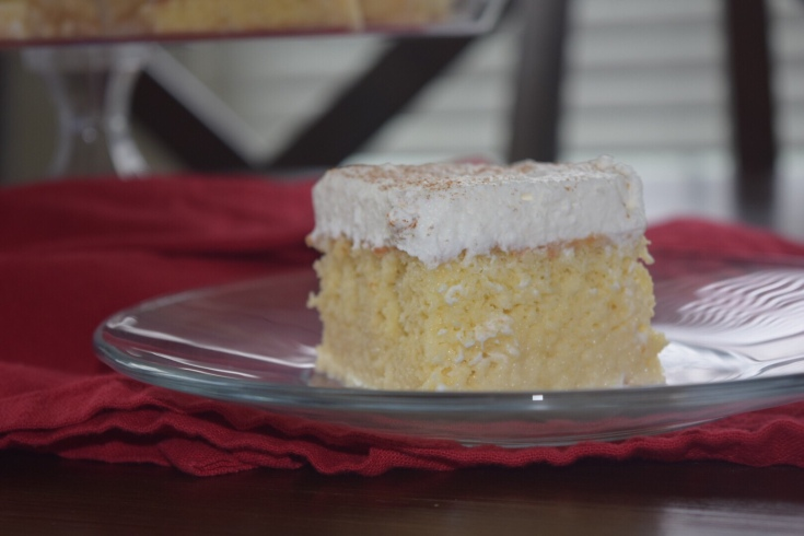Almond Coconut Tres Leches