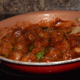 BBQ Pecan & Parm Meatballs (Vegetarian)