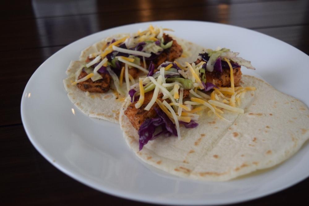 Blackened Catfish Tacos