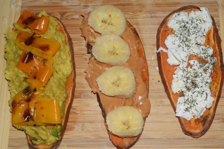 Sweet potato toast